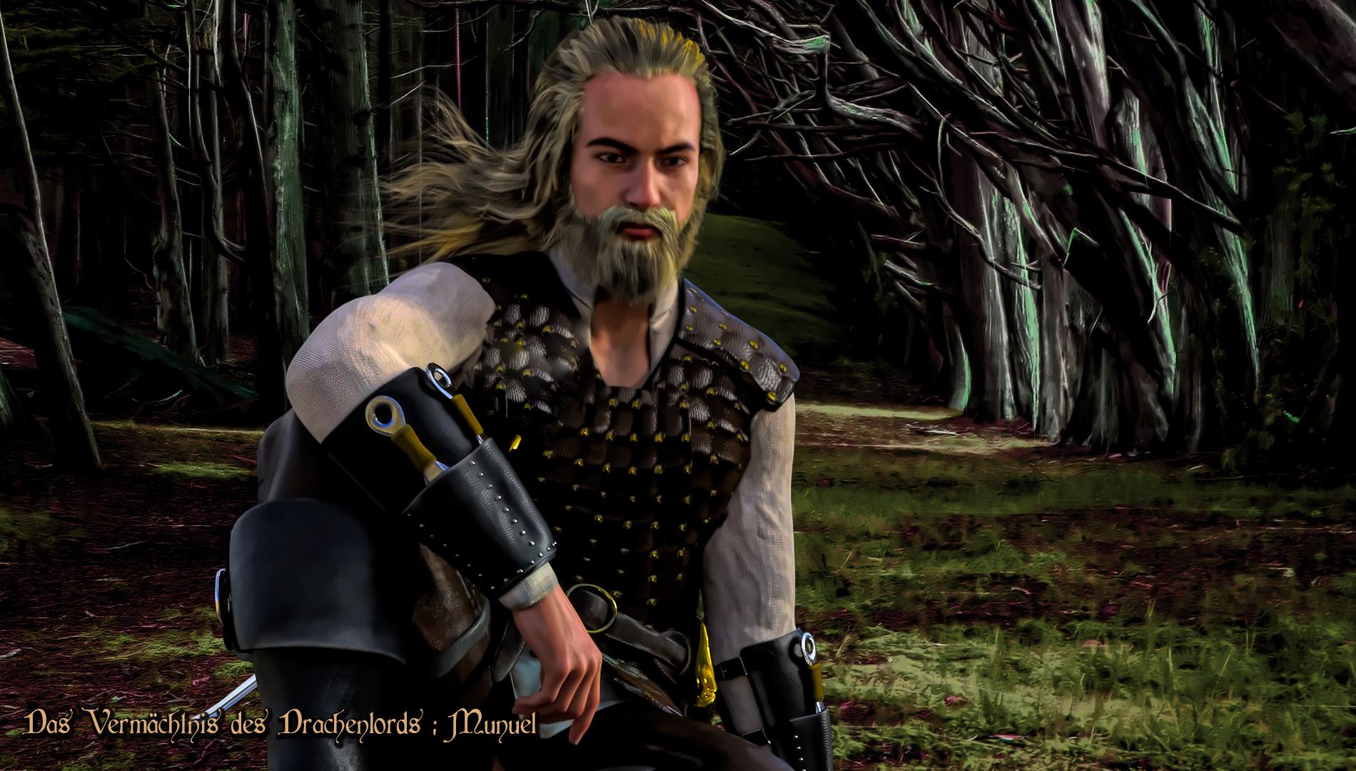 Portrait: Munuel, Dorfmagier von Angadoor