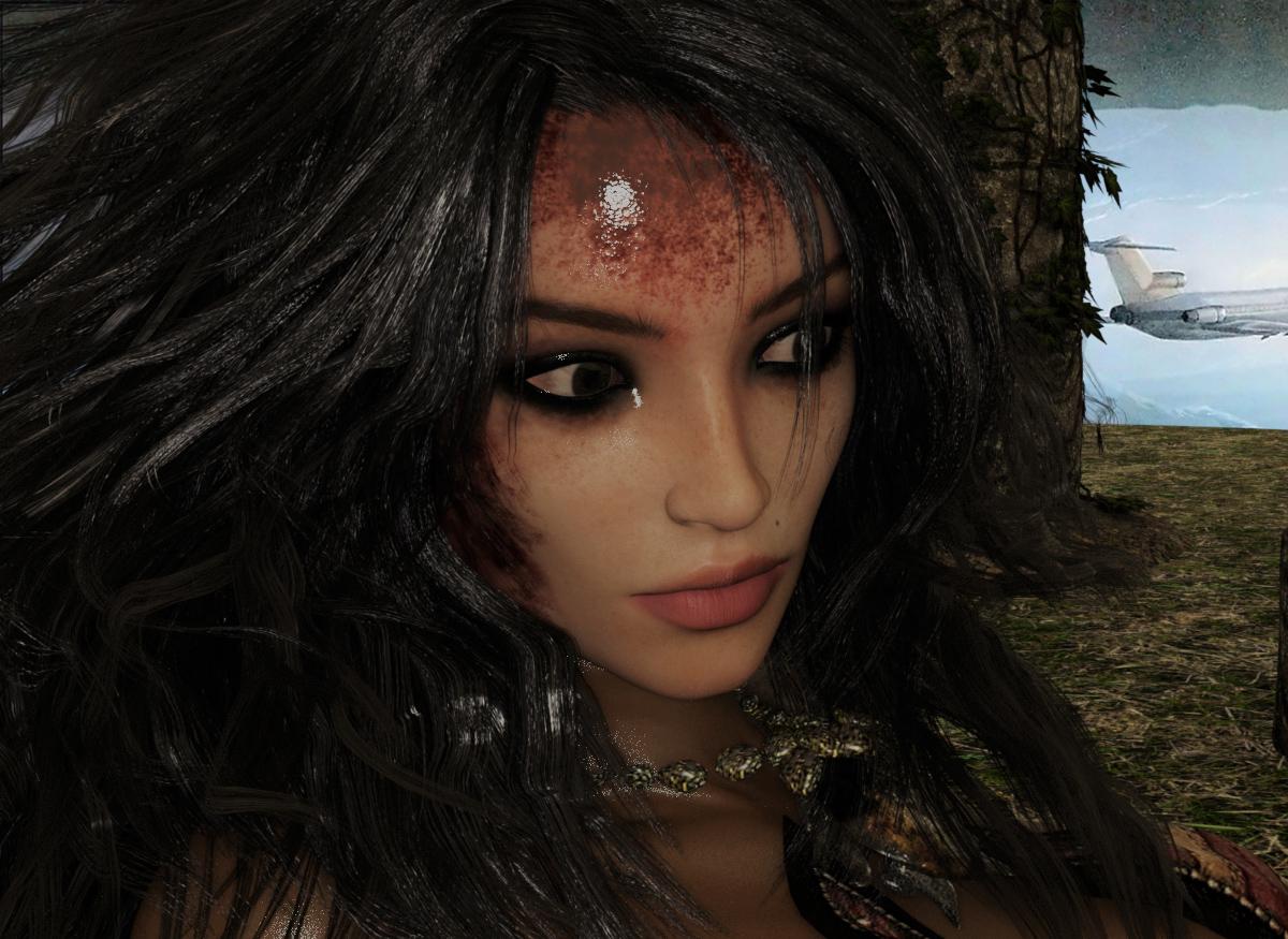 Portrait: Limlora, Prinzessin von Savalgor
